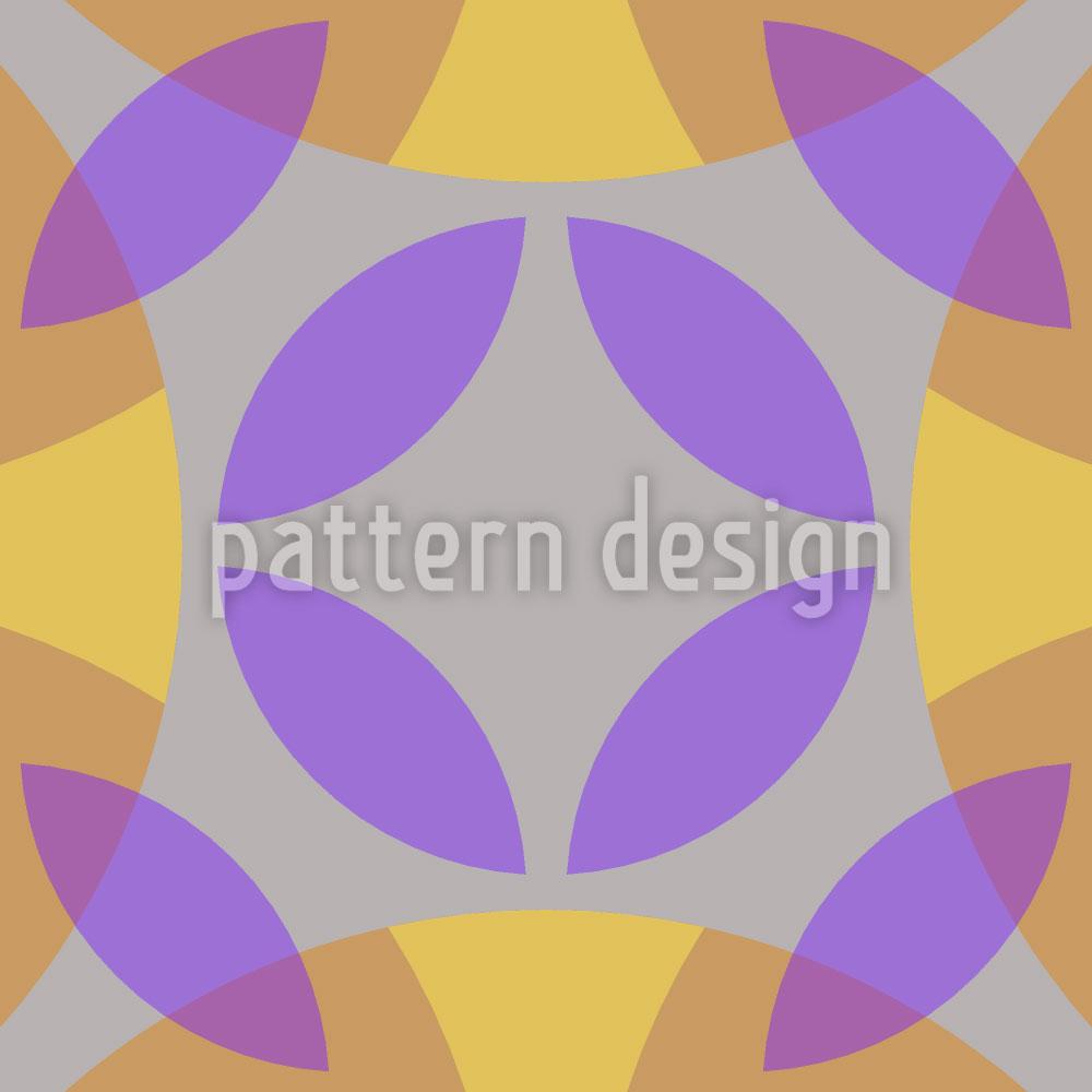 Designtapete Im Zentrum Des Zirkels