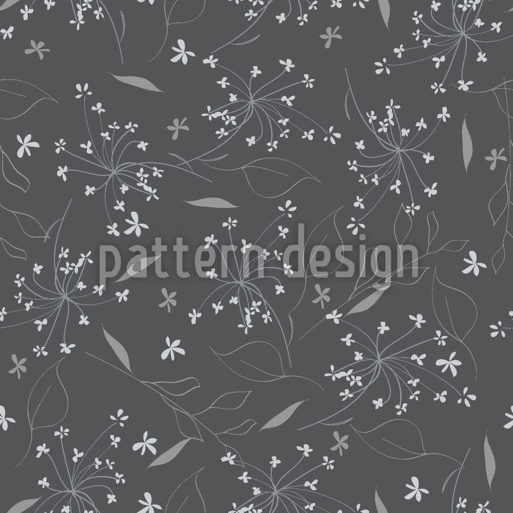 Designtapete Florale Explosion