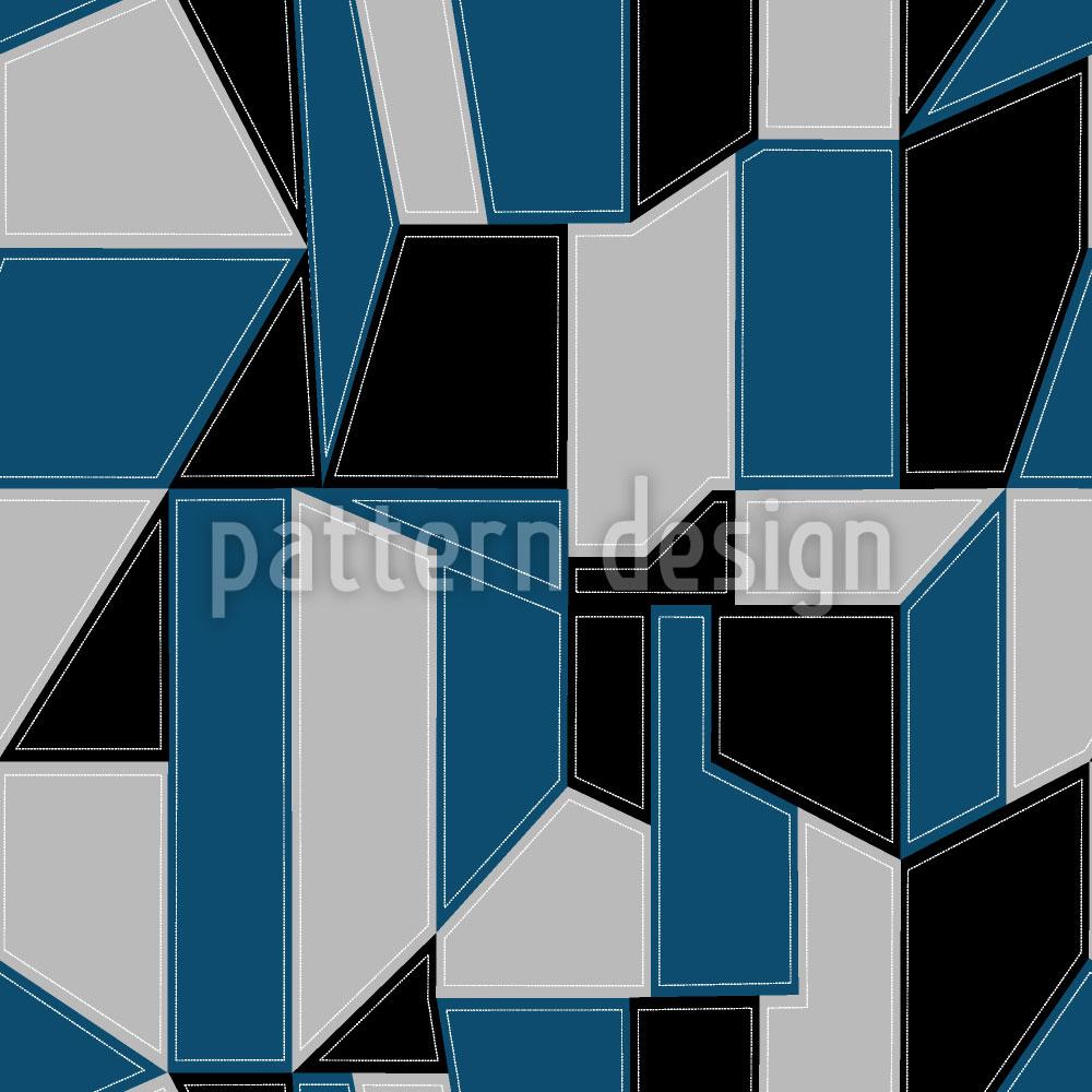 Designtapete Geometrie Reloaded