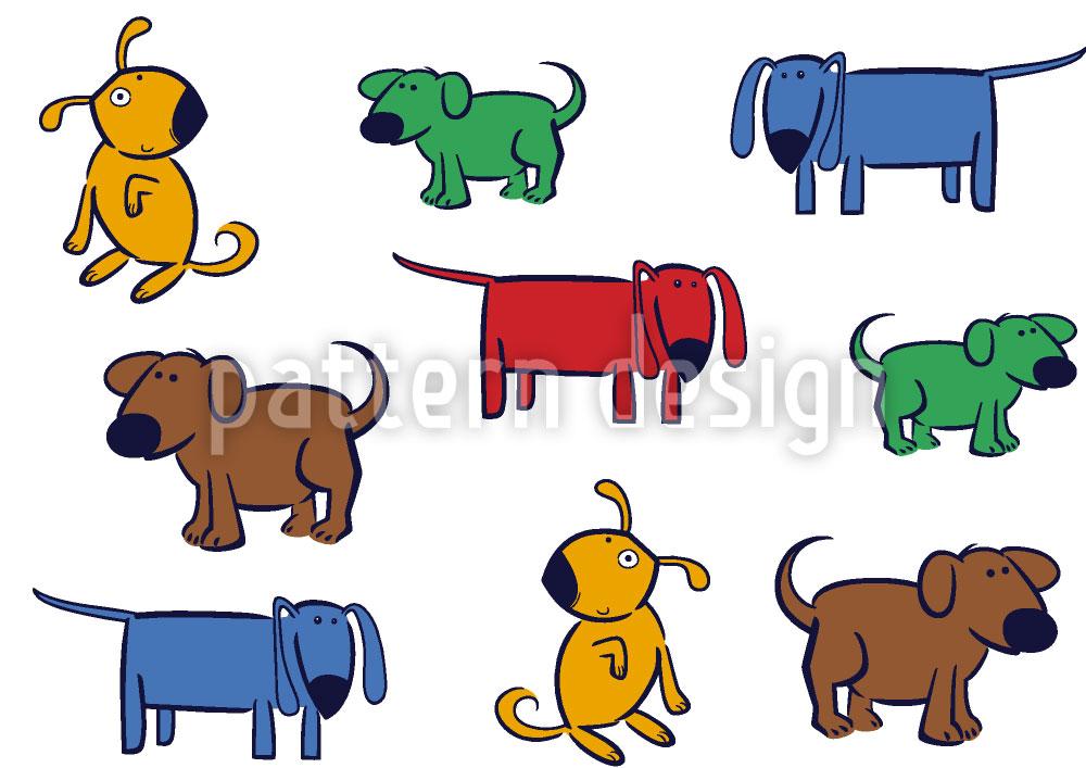 Designtapete Doggy Style