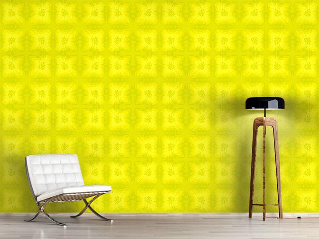 Designtapete Lemonade Florale