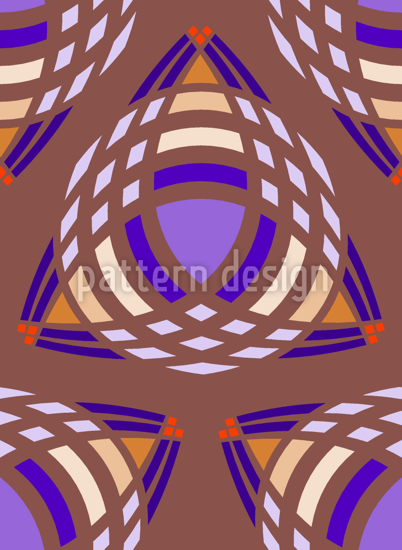 Designtapete Triangel Galaxien