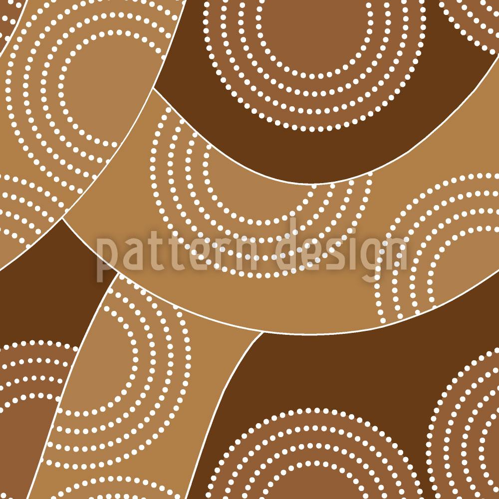 Designtapete Slackline Aboriginal