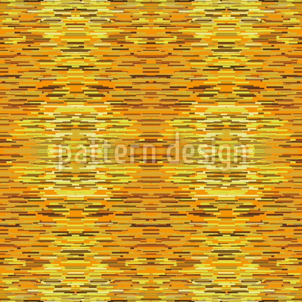 Designtapete Flimmern In Der Goldkammer