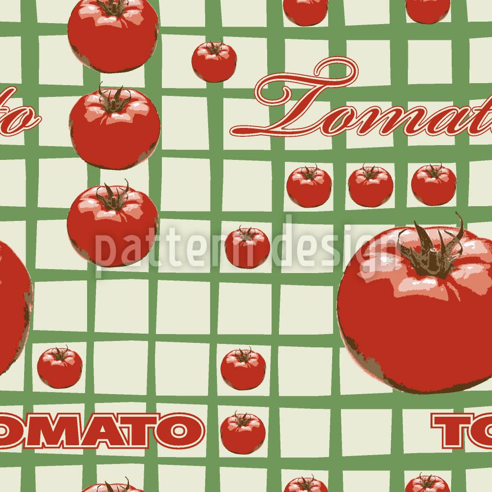 Designtapete Tomato