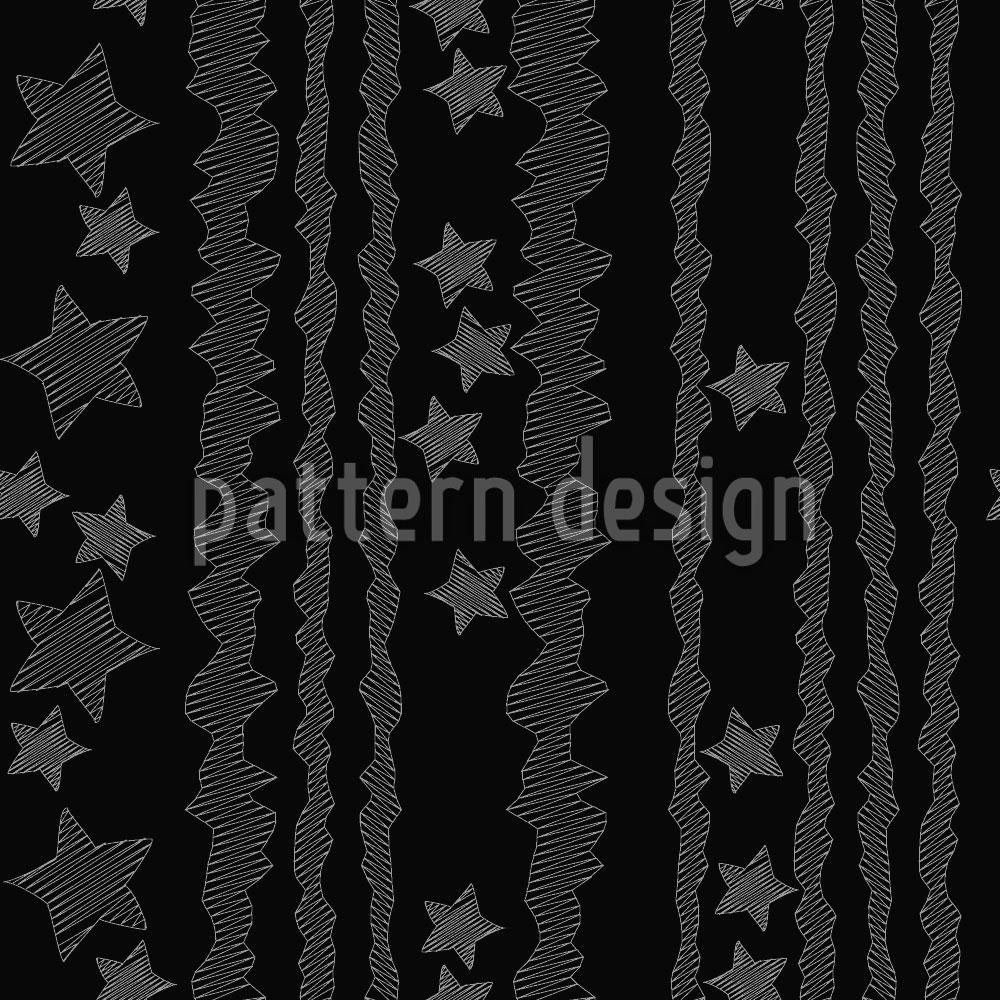 Designtapete Sterne Und Streifen