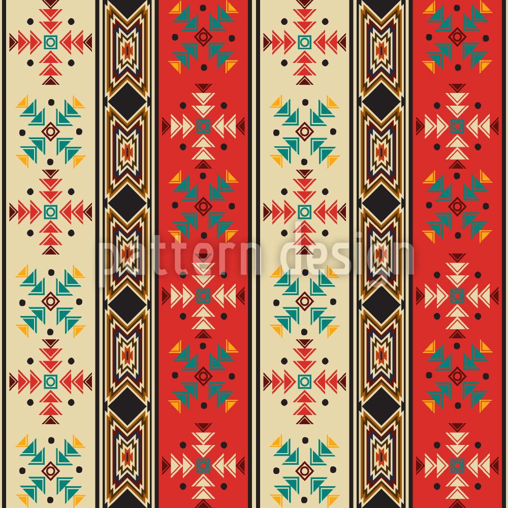 Designtapete Navajo Style