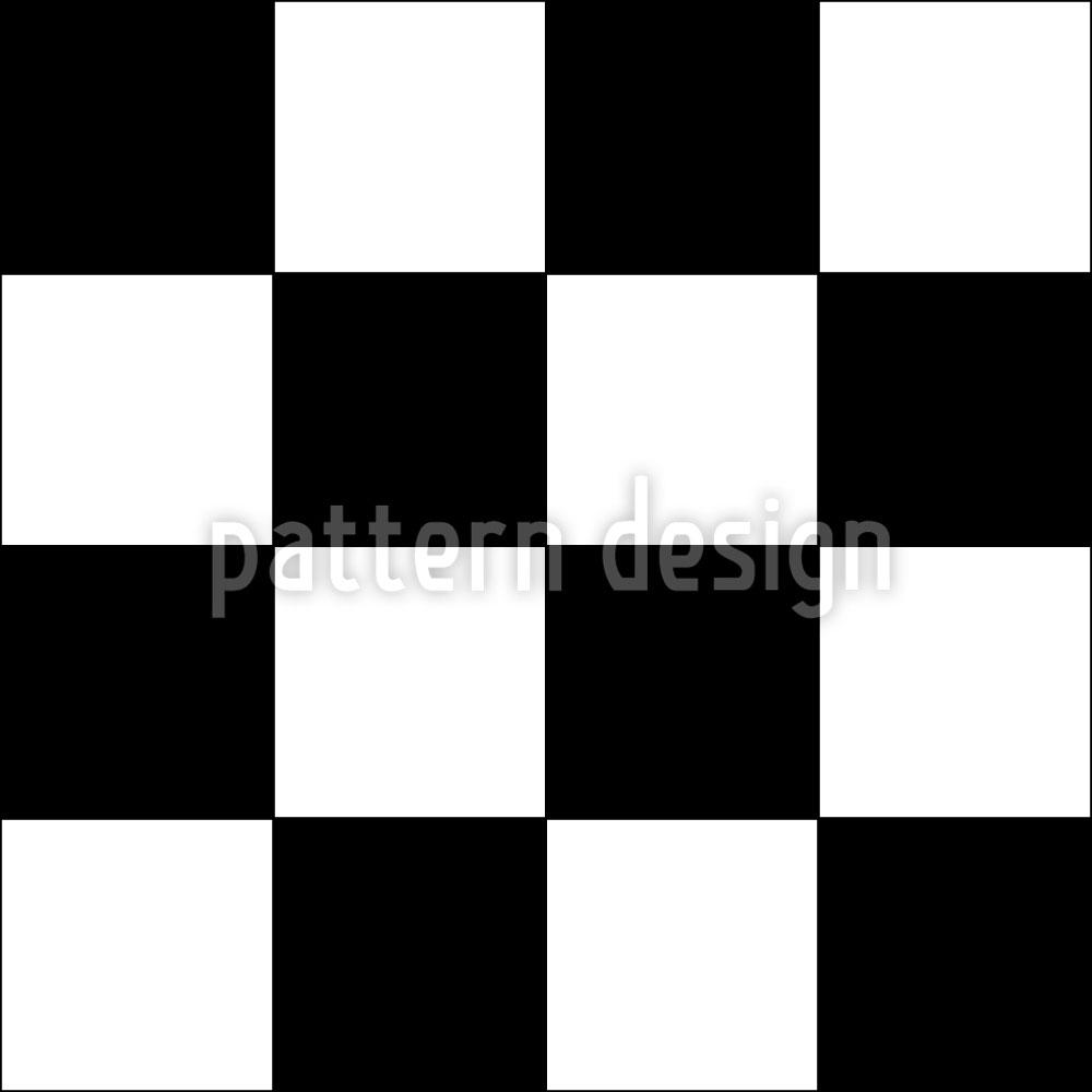 Designtapete Schachmatt