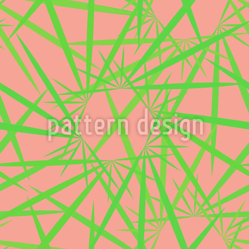 Designtapete Rosa Hat Dornen
