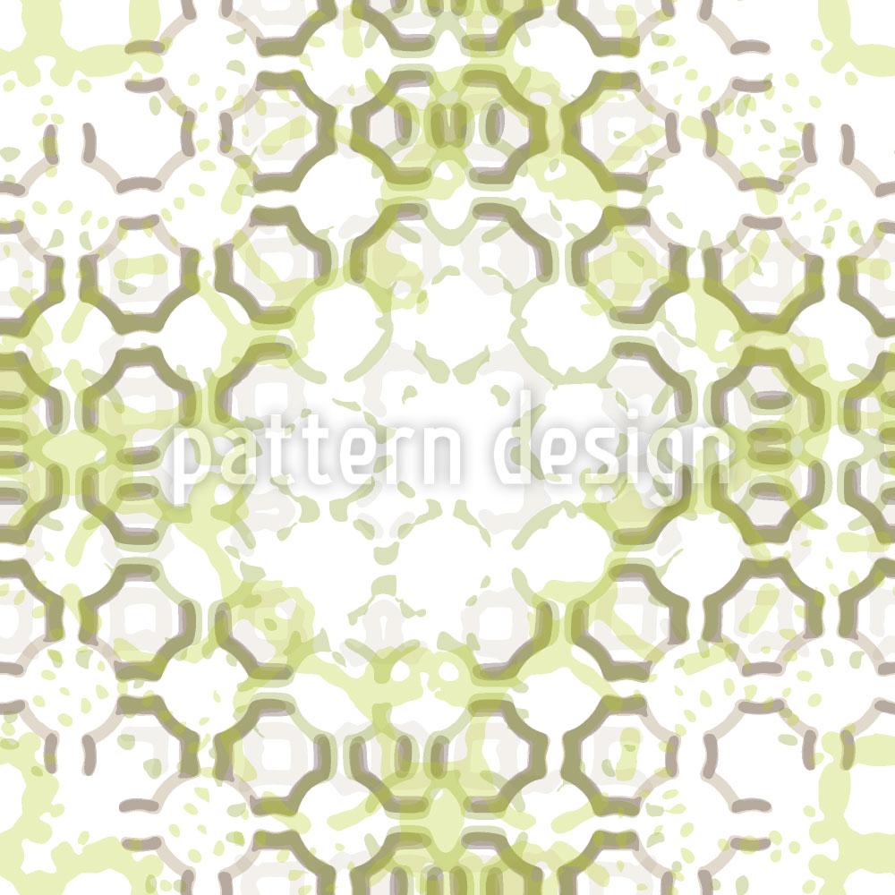Designtapete Grüne Stationen