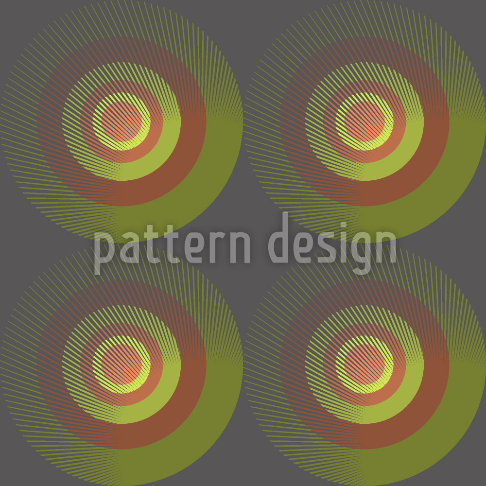 Designtapete Kreise Des Dualismus