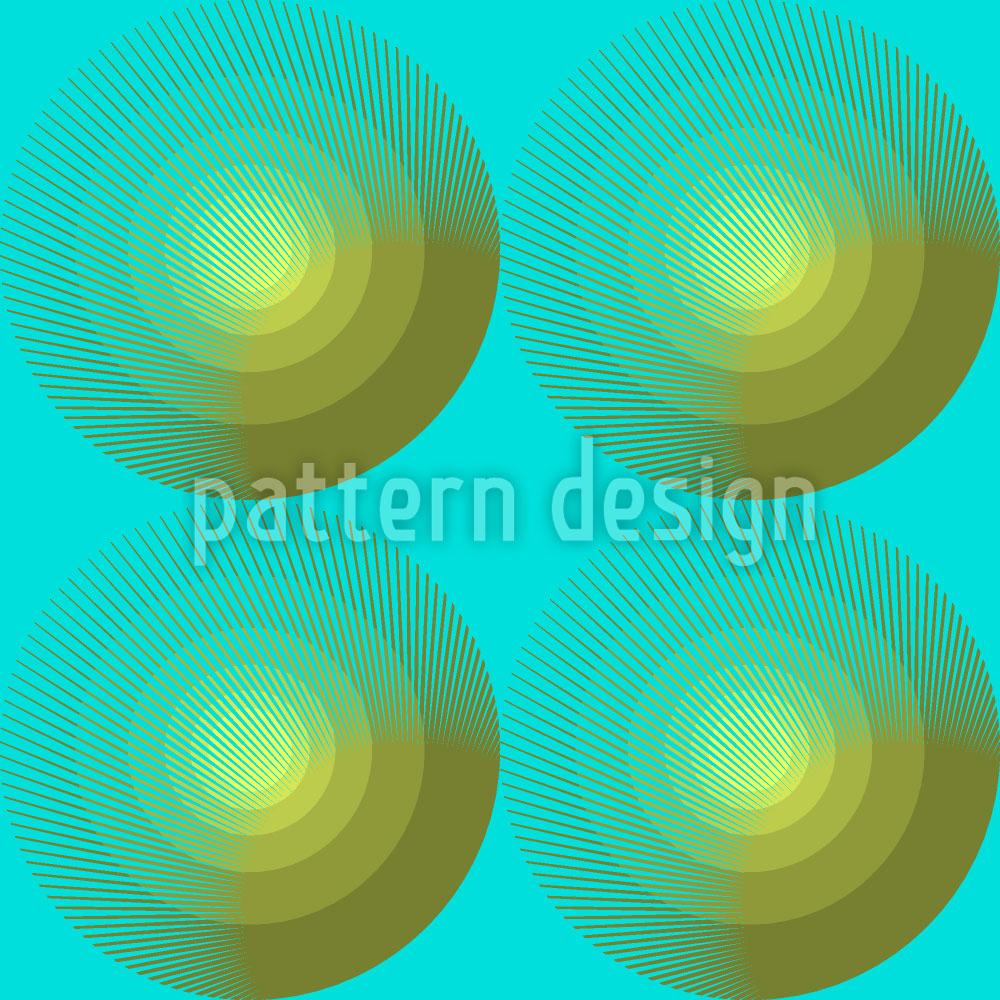 Designtapete Sommerfrische Kreise