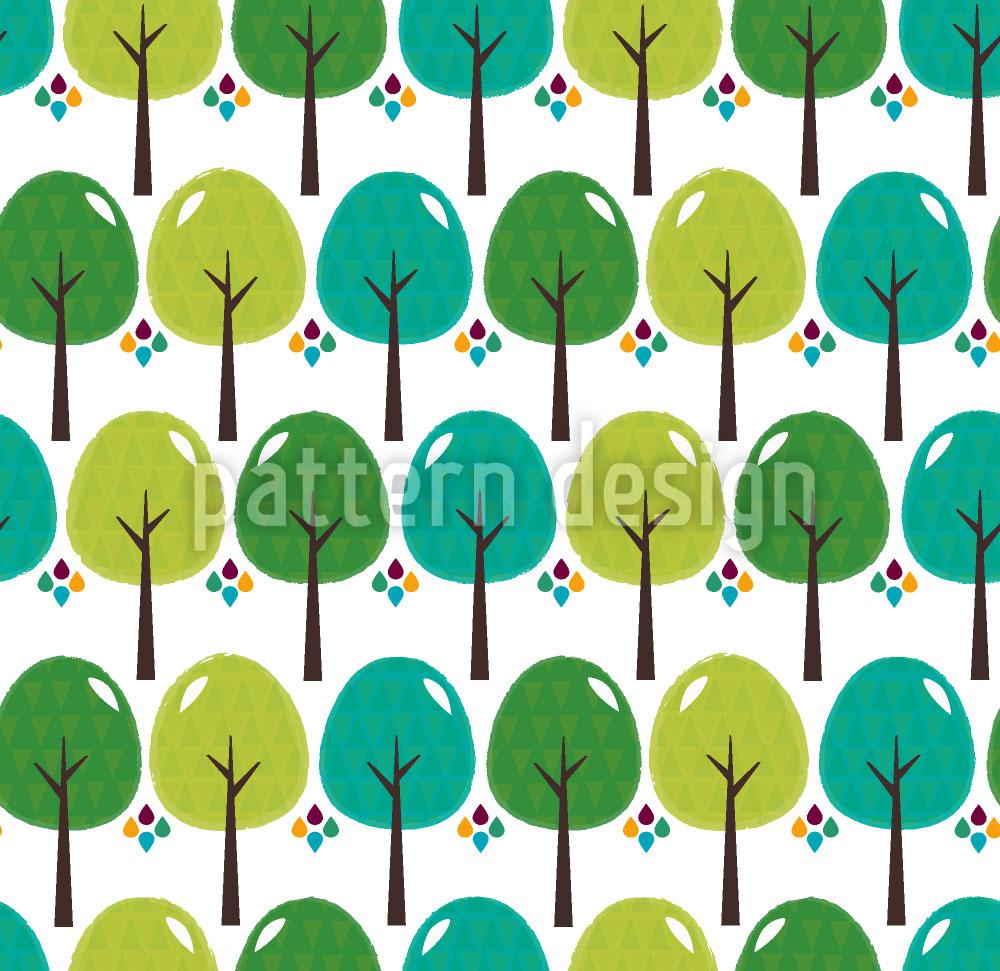 Designtapete Die Wälder Von El Bosque