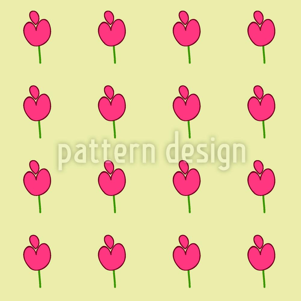 Designtapete Mukhri Blumen