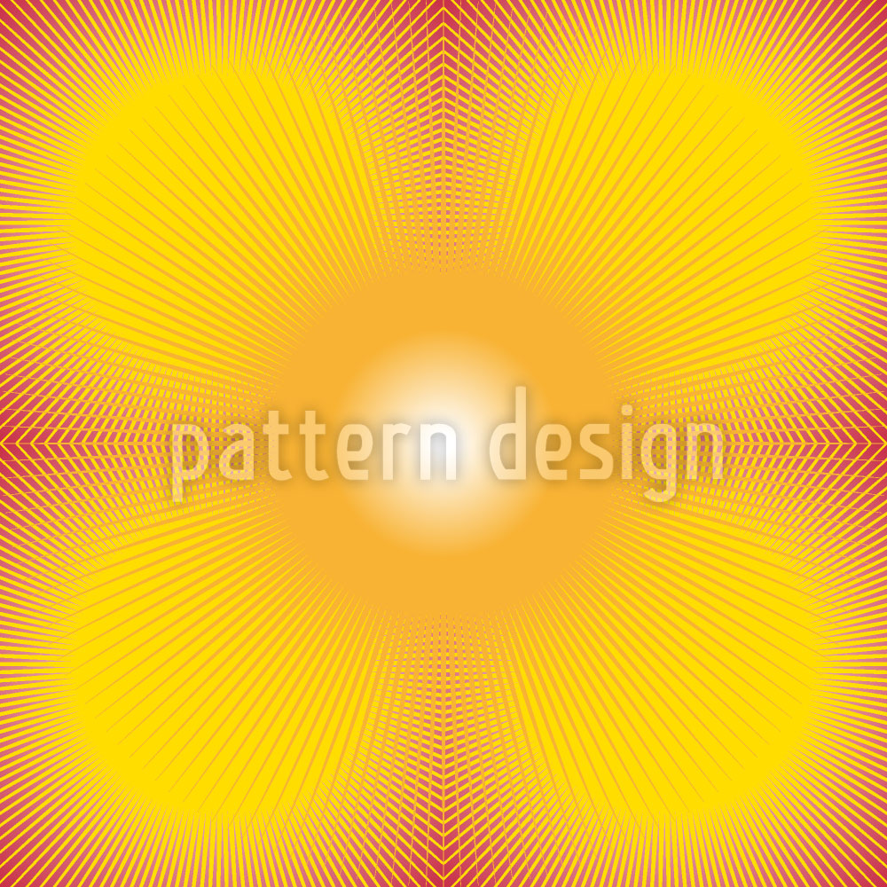 Designtapete Sonnenexplosion