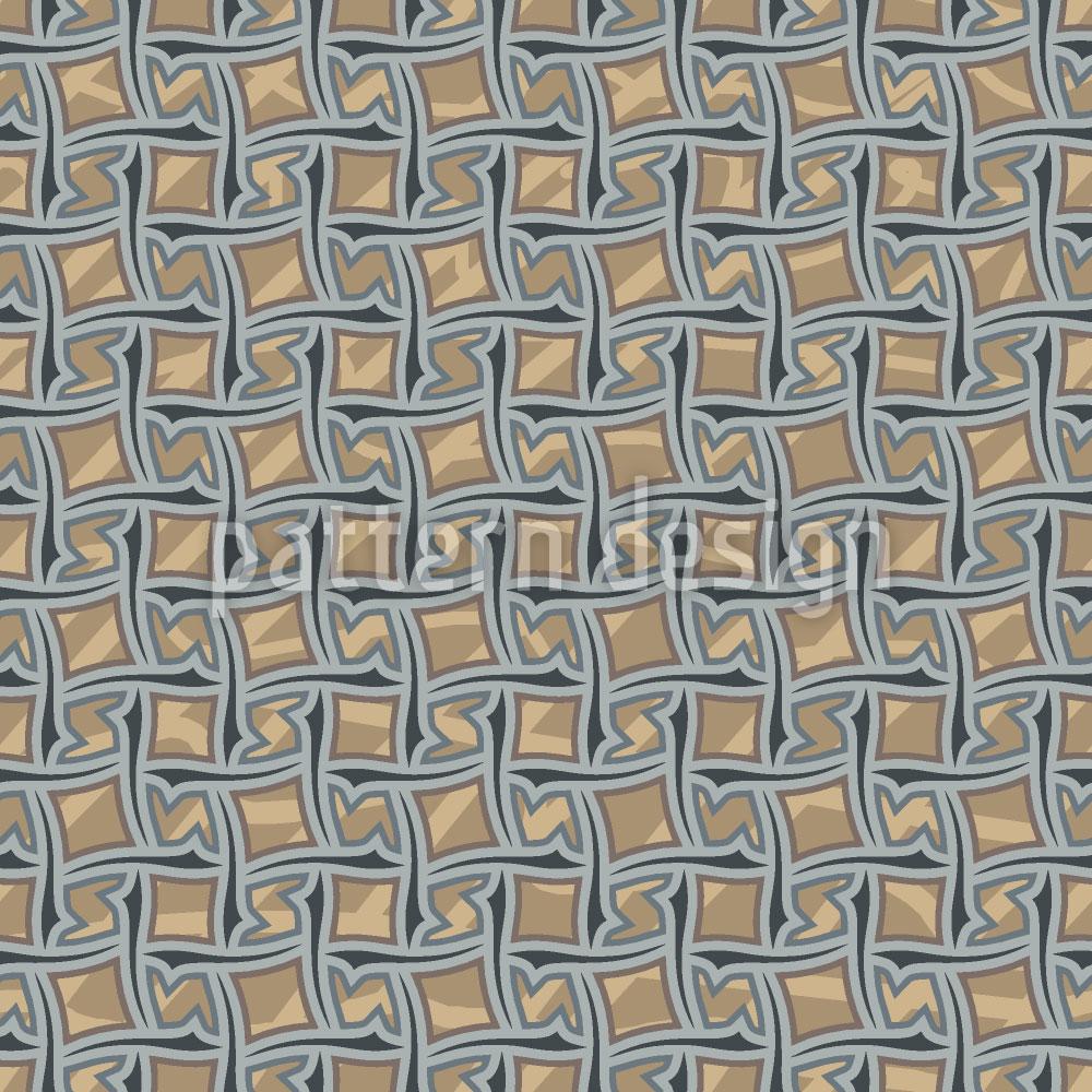 Designtapete Mustergültig Im Netz