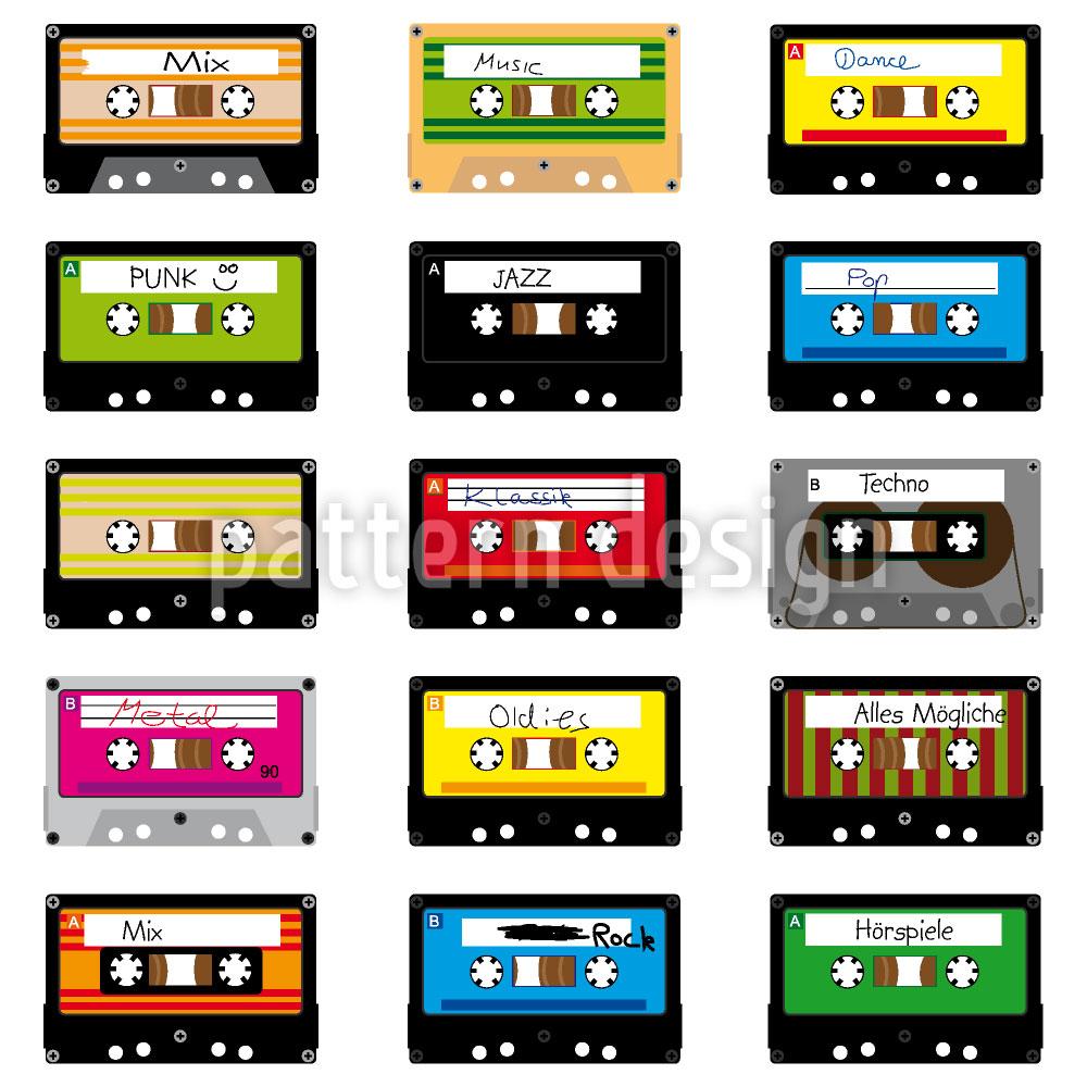 Designtapete Mixtapes
