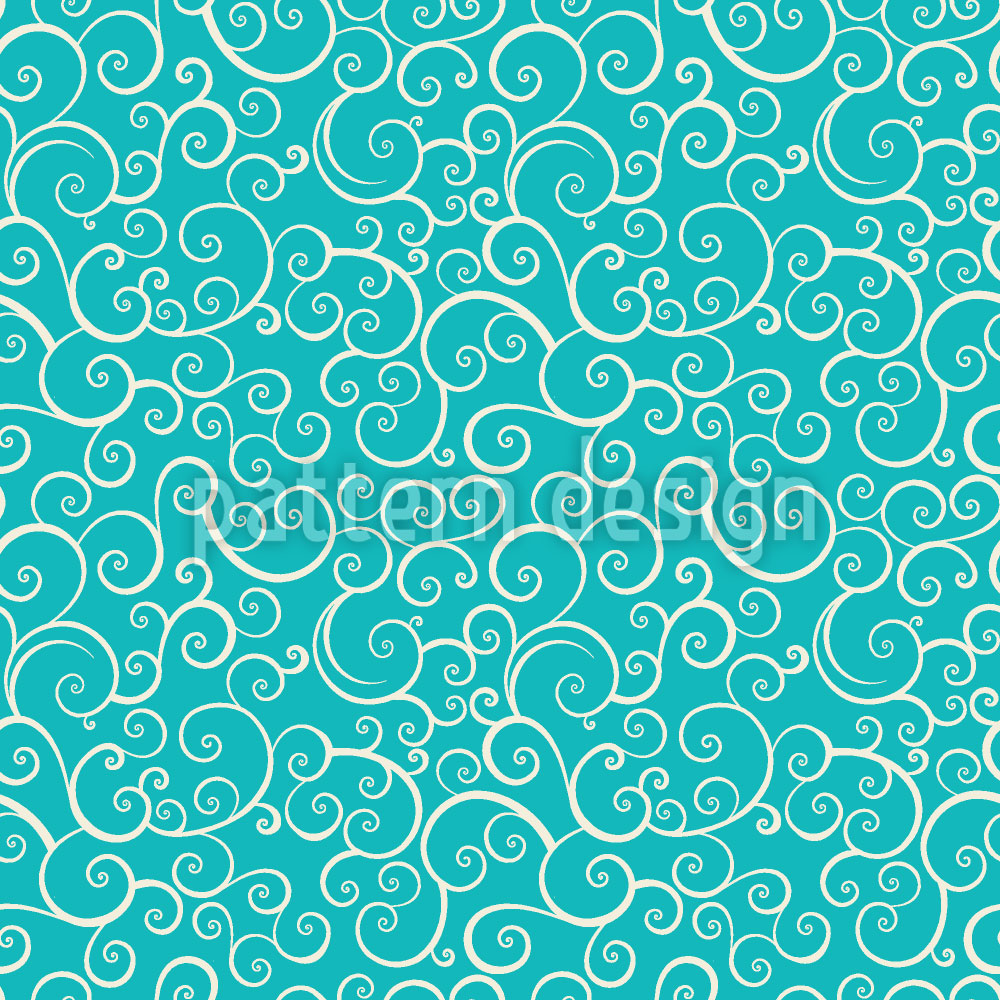 Designtapete Aqua Love