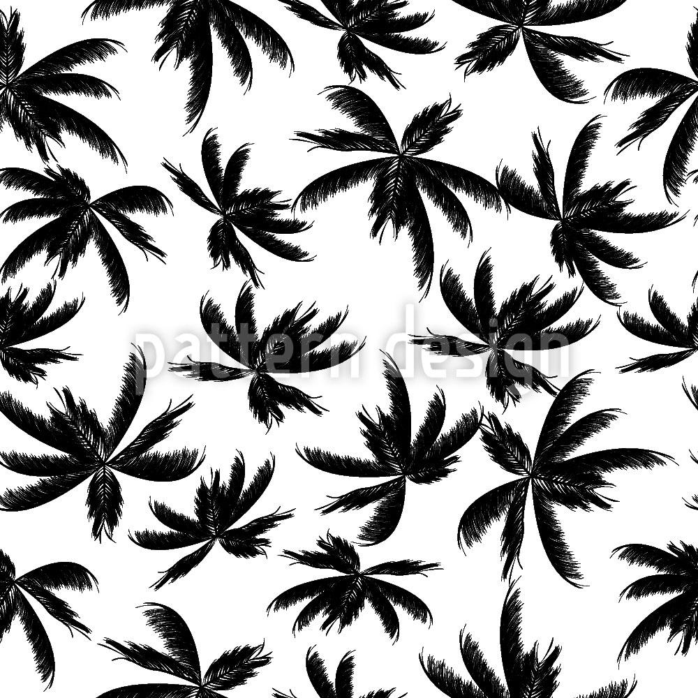 Designtapete Palmen