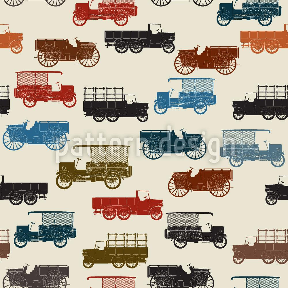 Designtapete Automobile