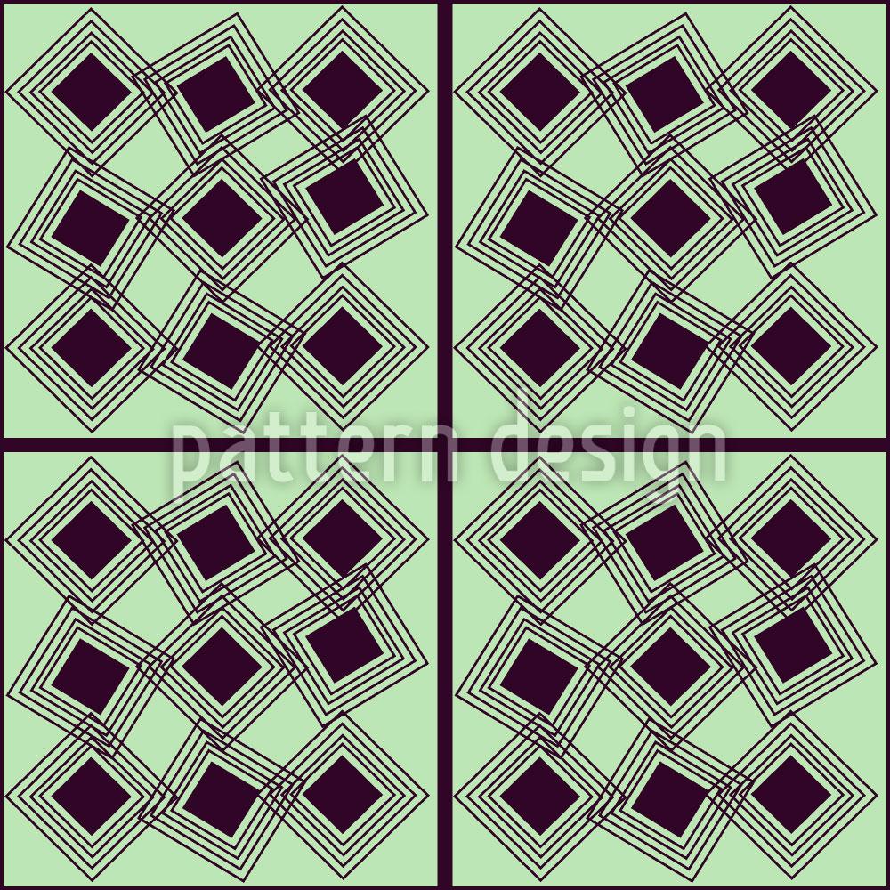 Designtapete Quadrat Im Quadrat
