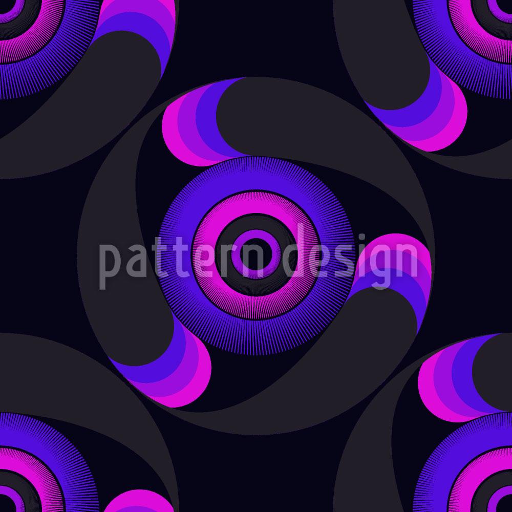Designtapete Orakelkreise