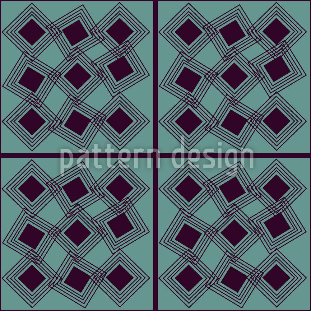 Designtapete Quadrat Quadratur