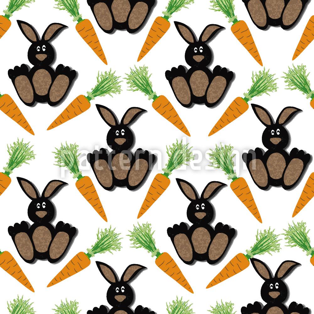 Designtapete Bunny Bunny