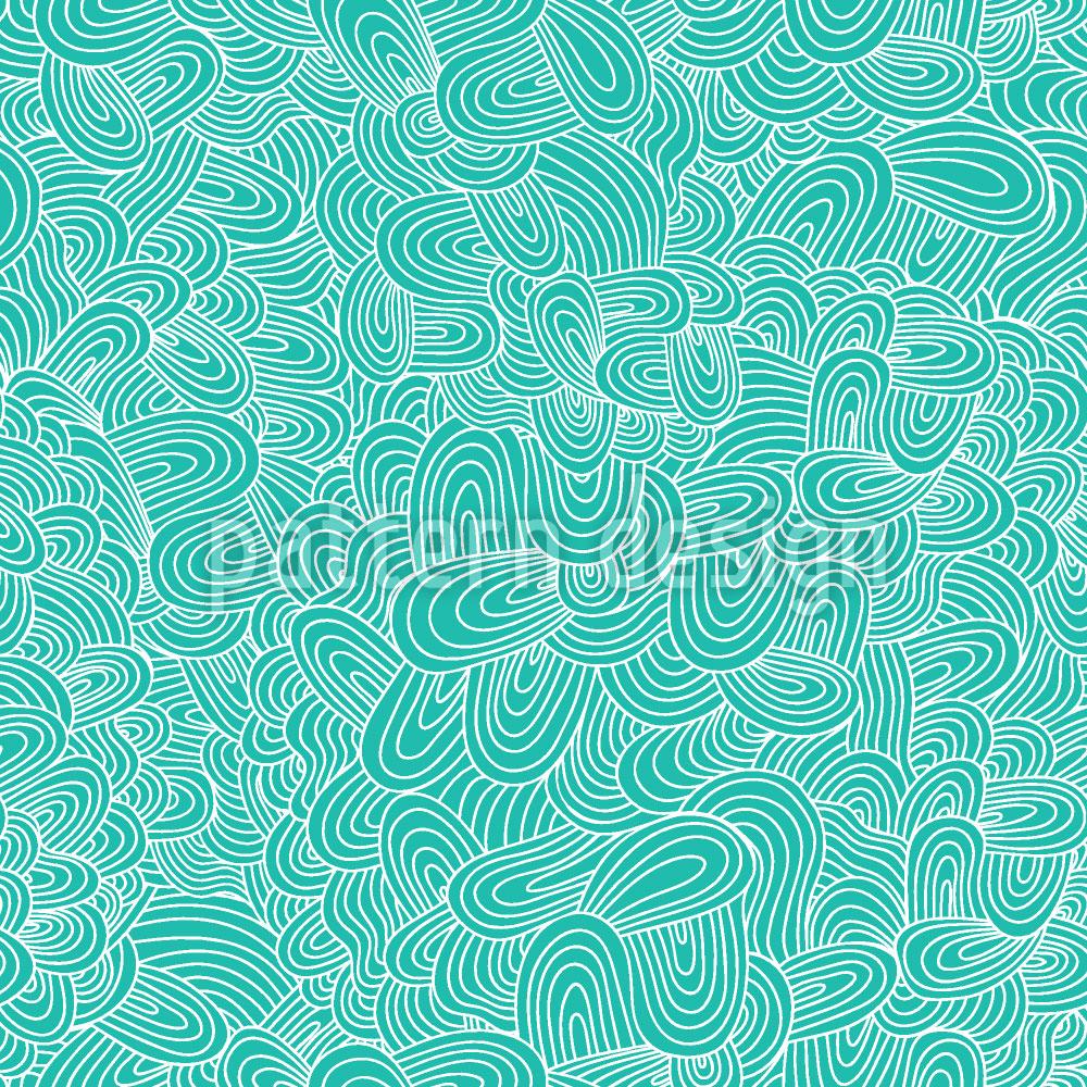 Designtapete Meereszungen