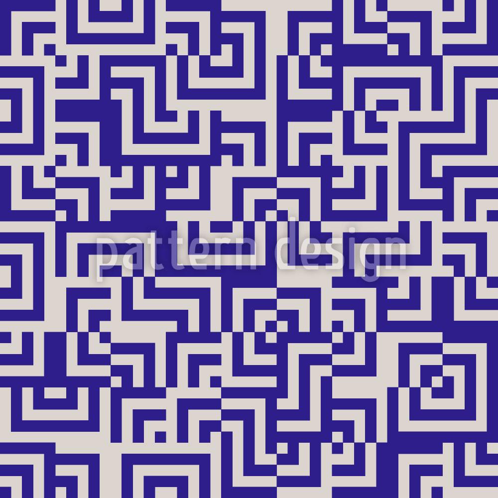 Designtapete Eulatik Labyrinth