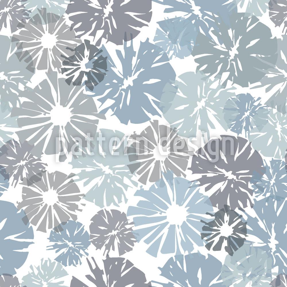 Designtapete Blumen Im Fenster