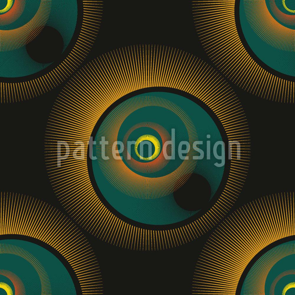 Designtapete Sonnenfinsternis