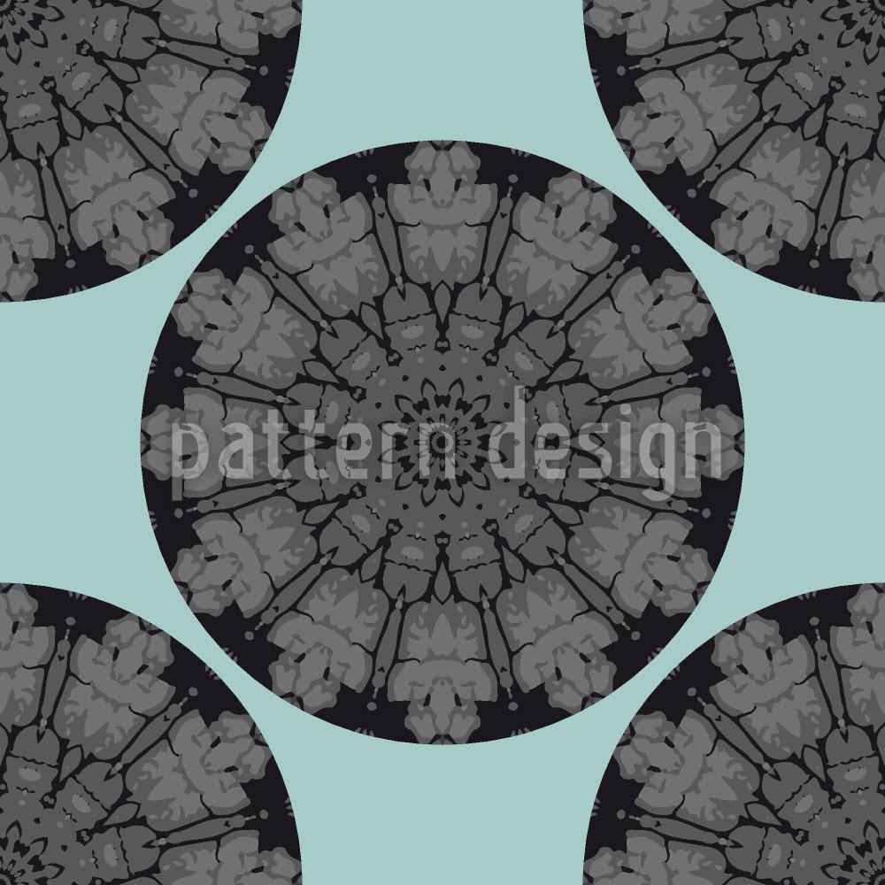 Designtapete Gotische Kreise