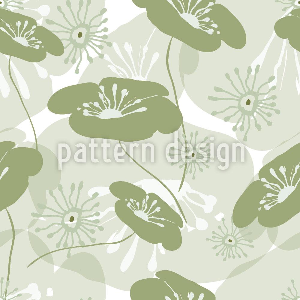 Designtapete Blumen Erwachen