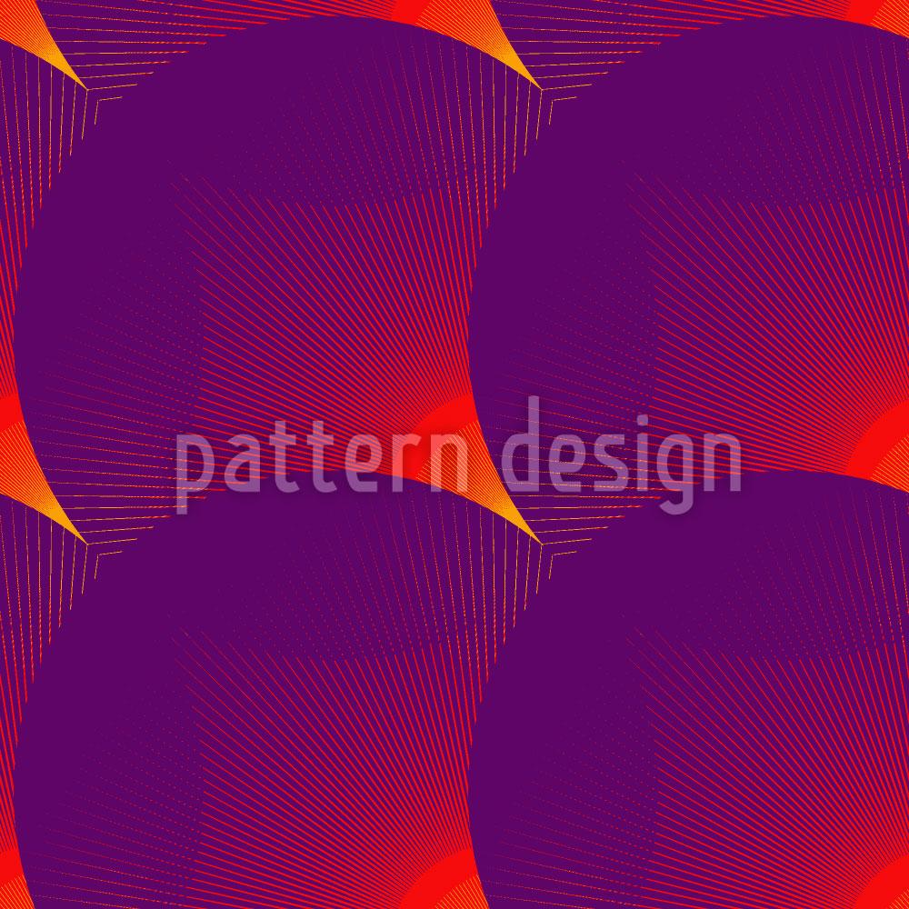 Designtapete Das Glühen Der Kreise
