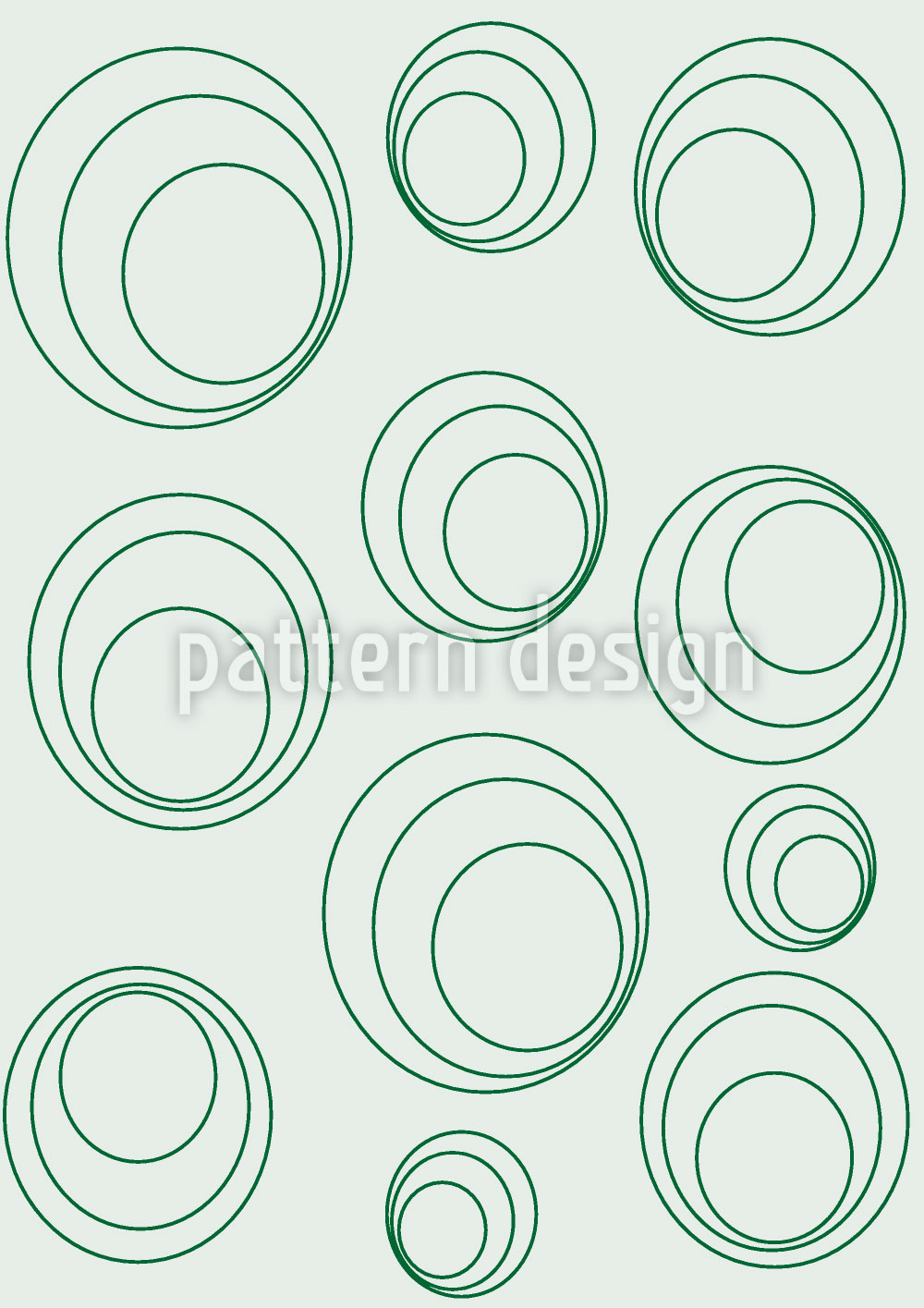 Designtapete Kreise Kreisen