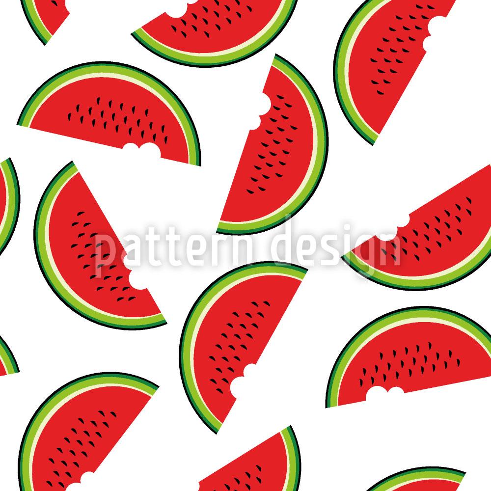 Designtapete Melonen Tag