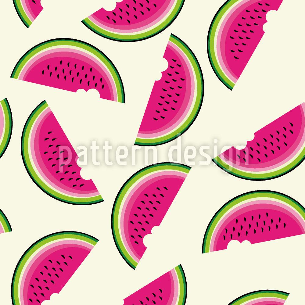 Designtapete Melonen Zum Frühstück