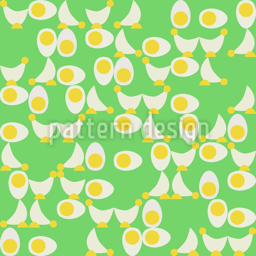 Designtapete Huhn Oder Ei