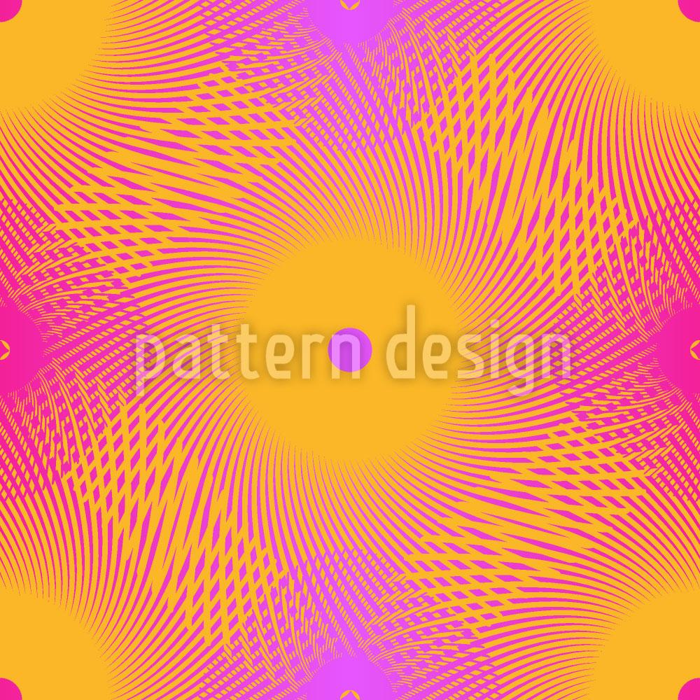 Designtapete Elektrik Der Spiralen