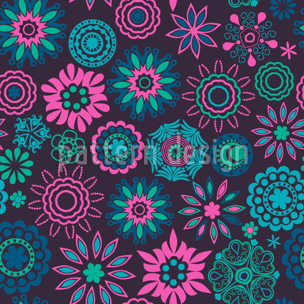 Designtapete Die Blumen Von Pandora