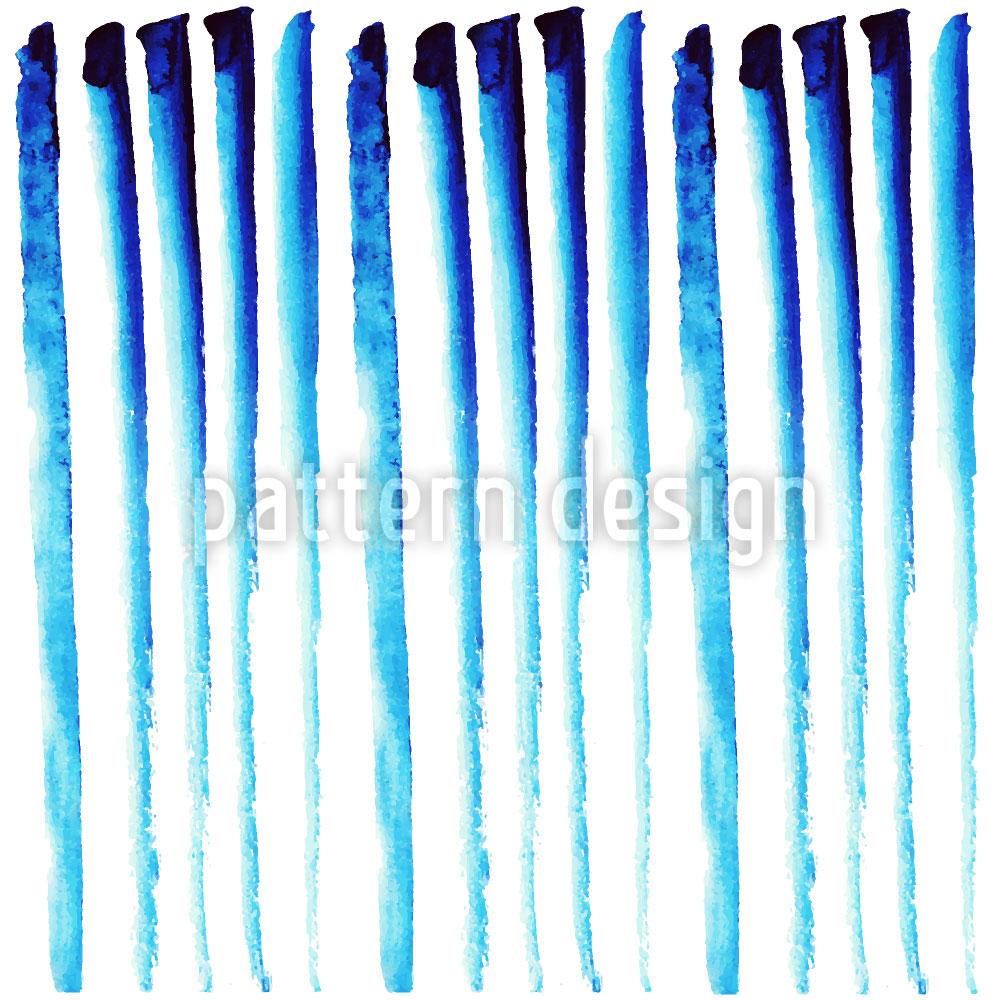 Designtapete Säulen Im Eispalast