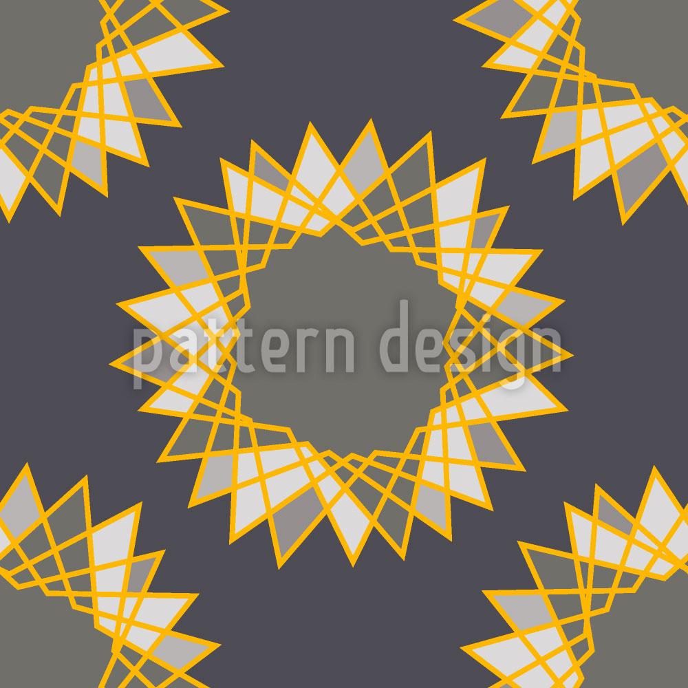 Designtapete Sterne Messerscharf