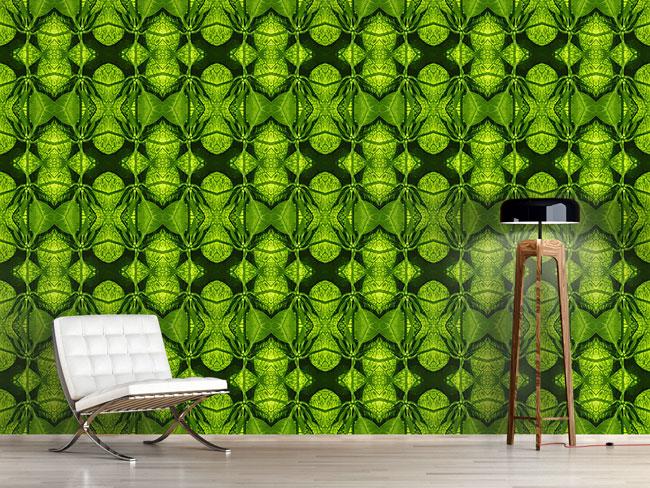 Designtapete In Der Grünen Hölle