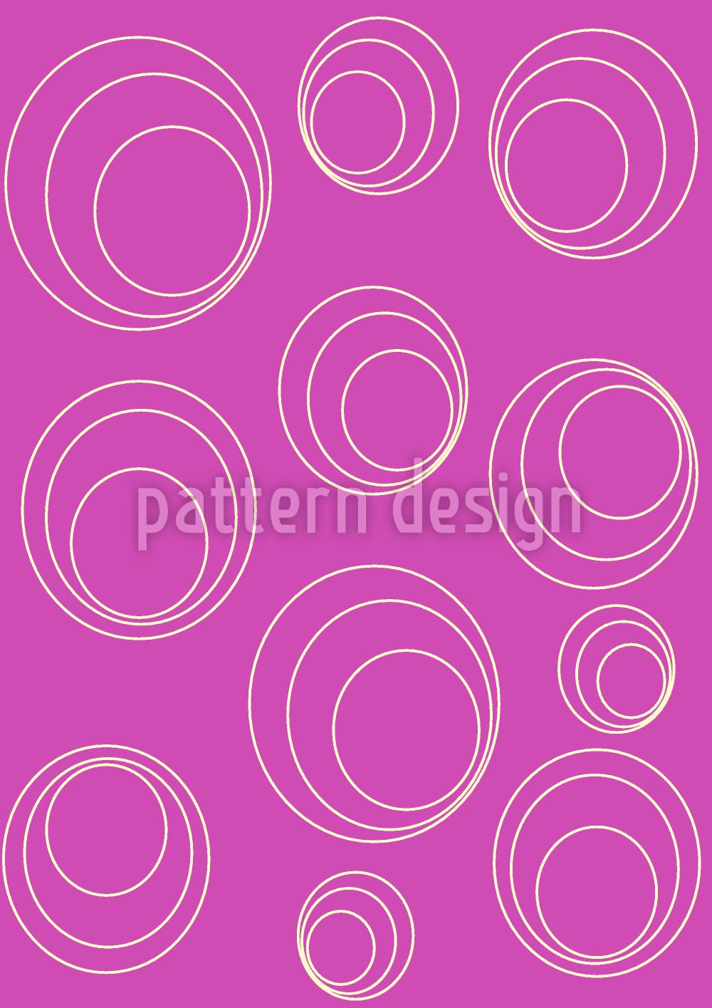 Designtapete Kreise Umrunden