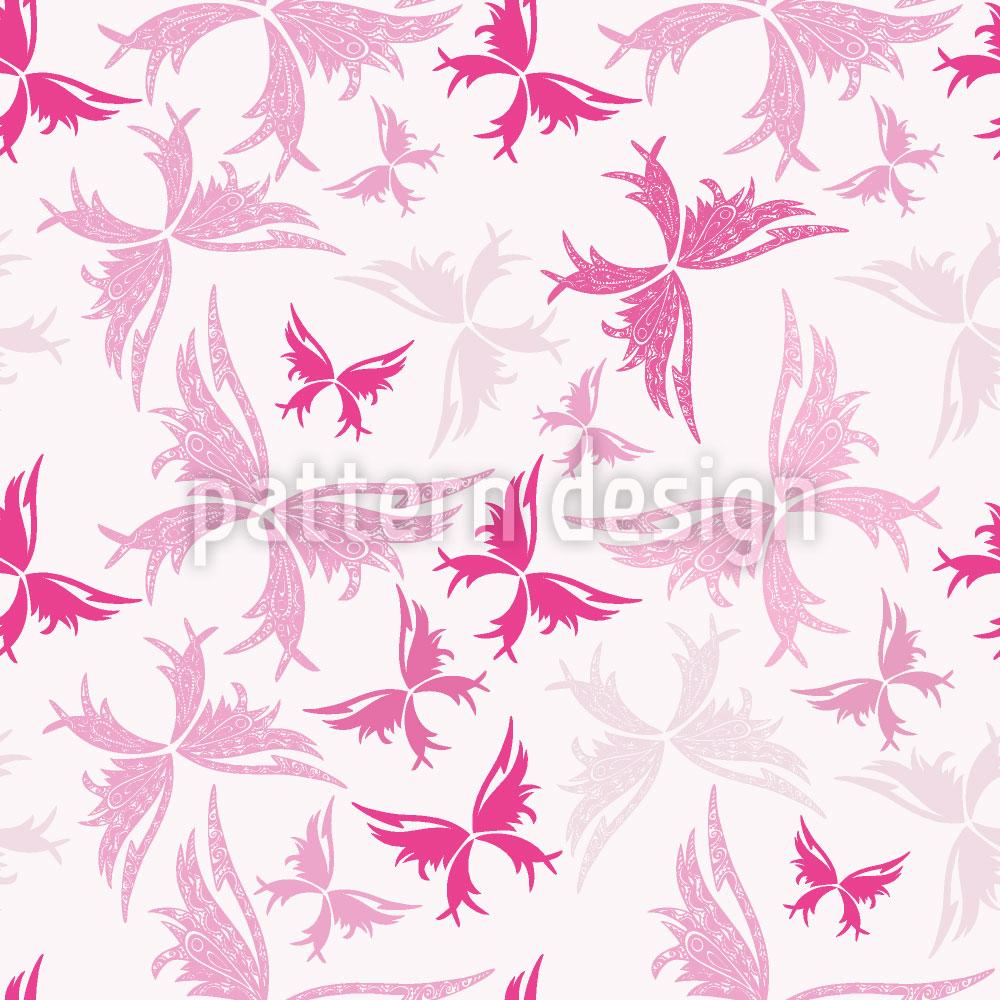 Designtapete Maori Schmetterlinge