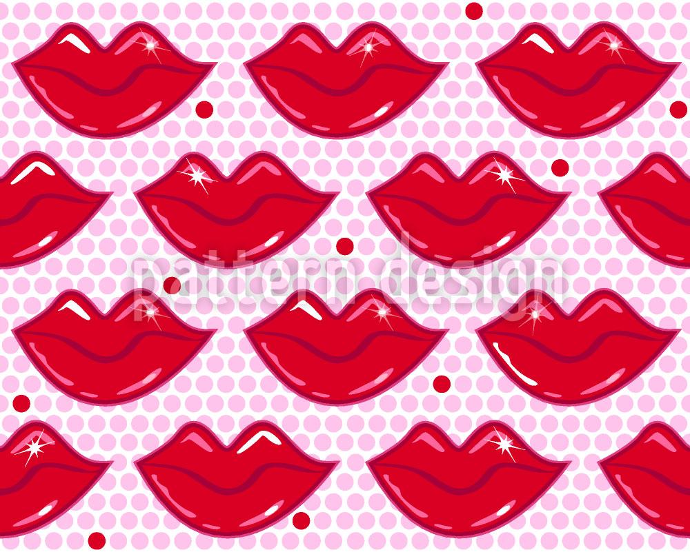 Designtapete Heisse Küsse