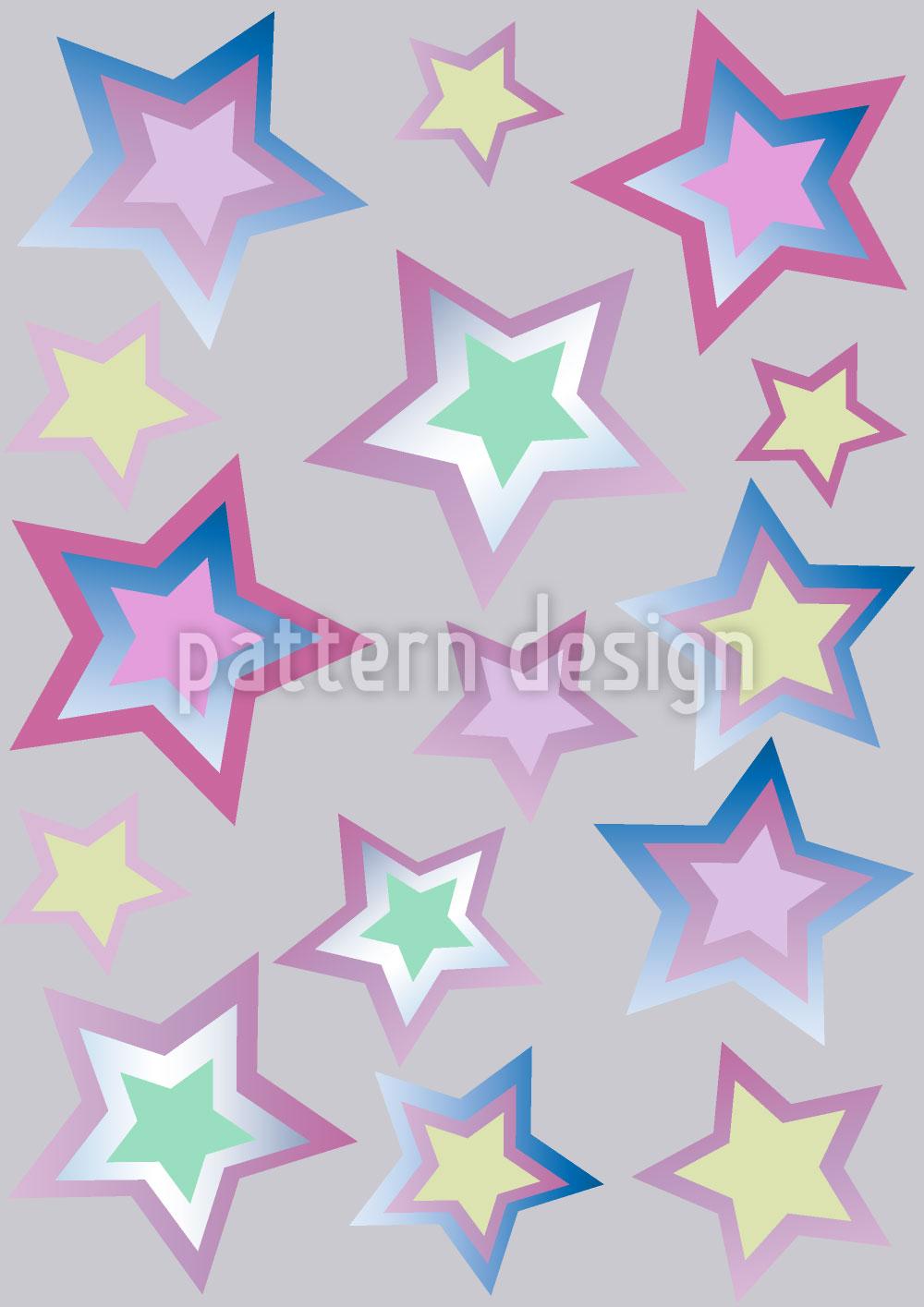 Designtapete Sternenflitter