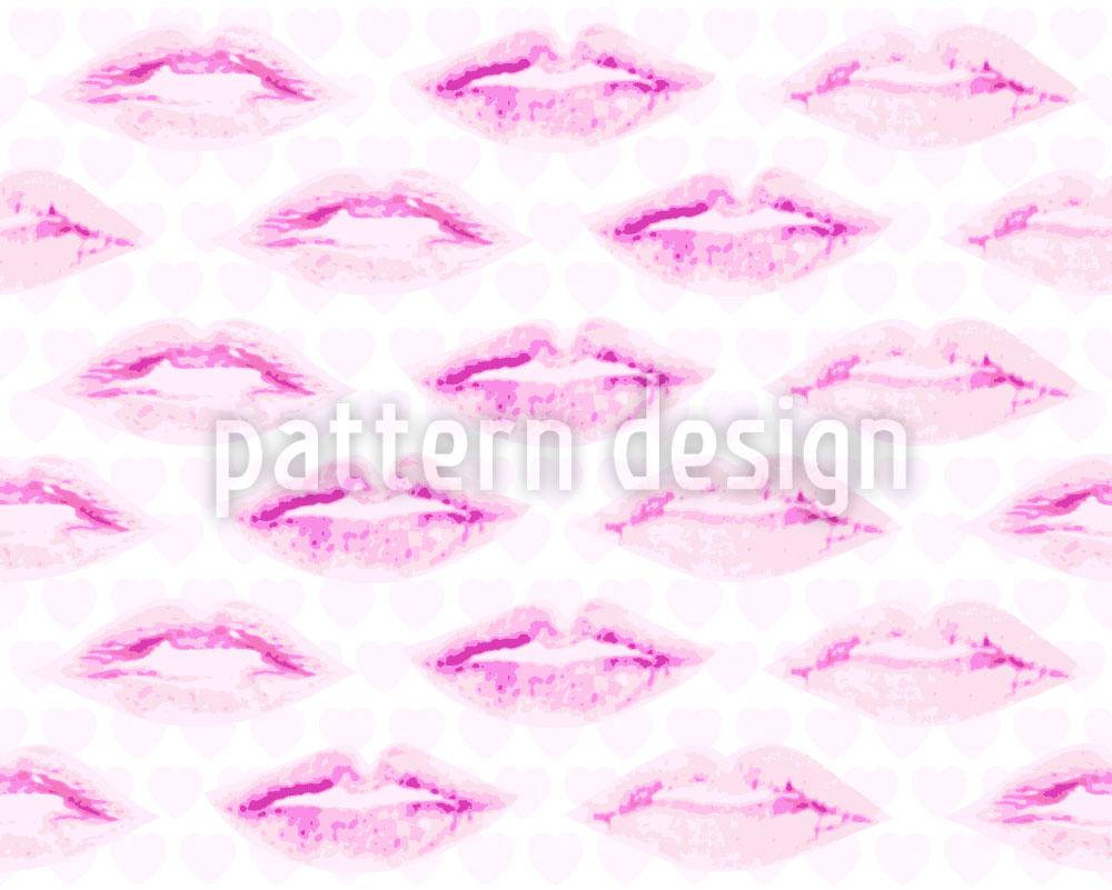 Designtapete Der Erste Kuss