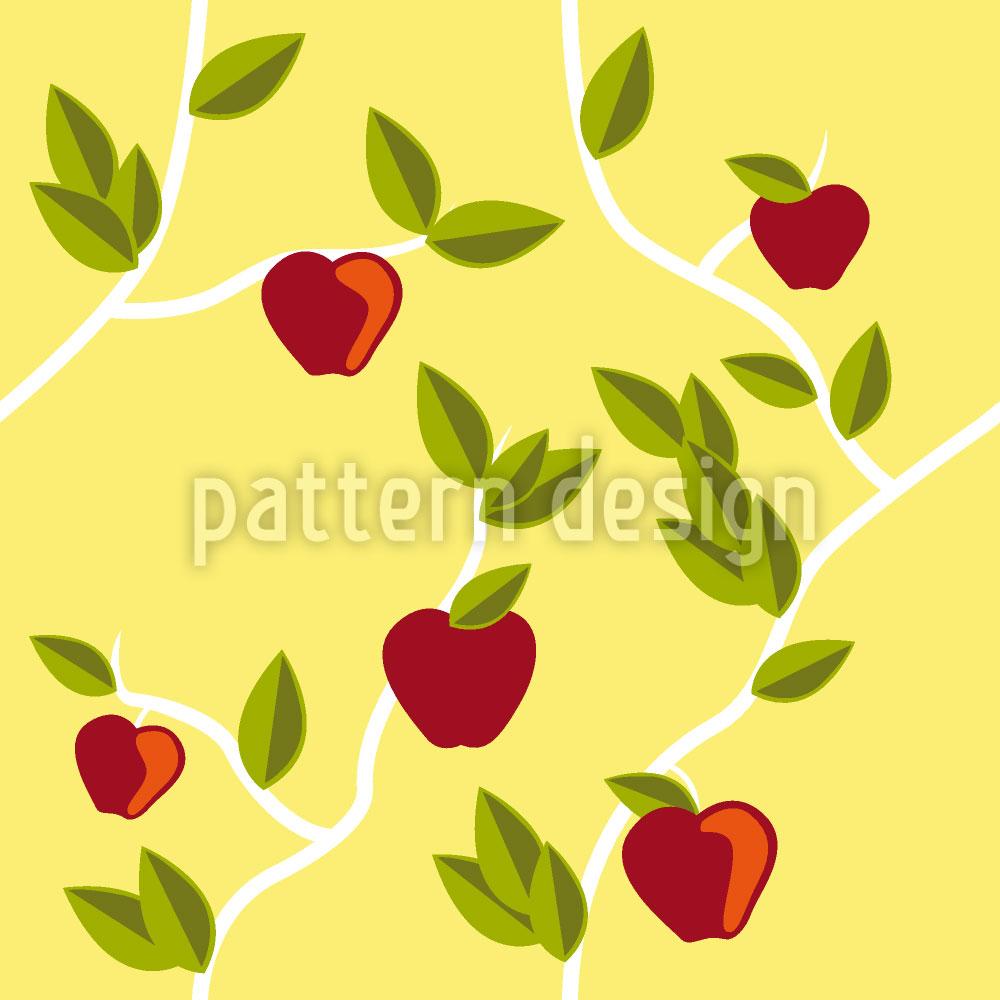 Designtapete Garten Eden